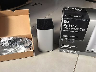 Western Digital My Book Thunderbolt Duo 6 To