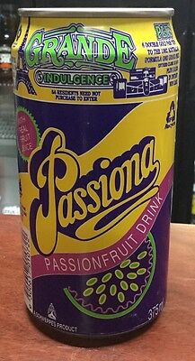 Passiona. 375ml Collector Soda Can
