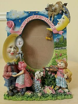 Nursery Hey Diddle Diddle 3D Picture Photo Frame 4x6