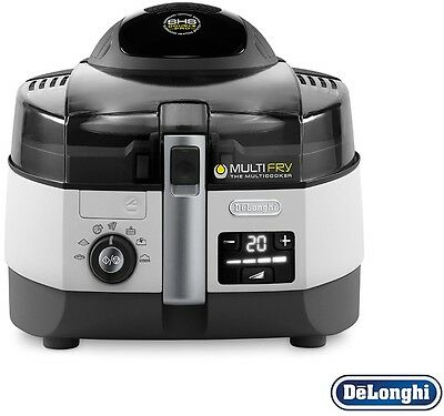 Low-Oil Fryer And Multicooker DeLonghi Extra Chef Multifry Cooker