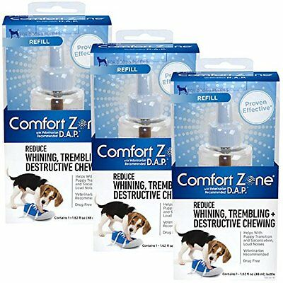 Comfort Zone Refill with D.A.P. for Dogs (3-Pack)