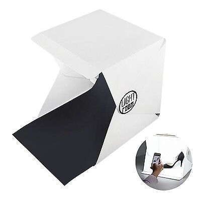 COWEEN Photo Tent with Lights Portable Small Backdrop Folding Photo Booth Sho...