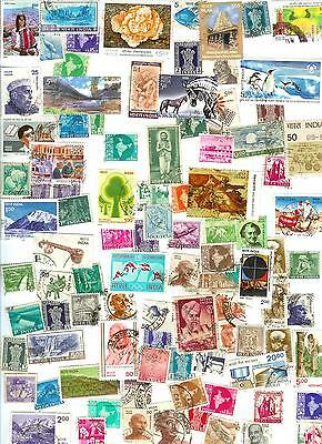 Modern India - Ninety Stamps All Different