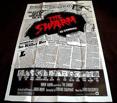 The Swarm  - Us One Sheet - Original Cinema Release Poster