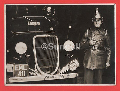 Real Photograph Circa 1930s Fire Brigade by Harrow Observer Middlesex Proof 4