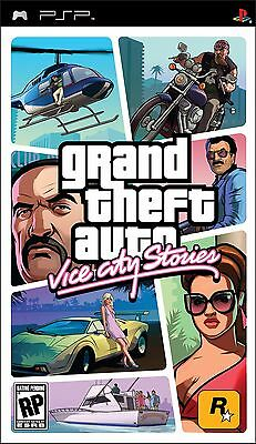 *box Only* Grand Theft Auto Gta Vice City Stories - Sony Psp