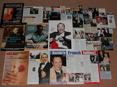 30+ KEVIN SPACY Magazine Clippings