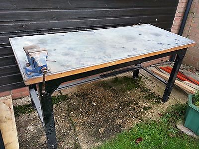 Work Bench with Vice for Woodwork or Metalwork