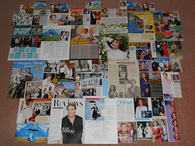 50+ JULIE ANDREWS Magazine Clippings