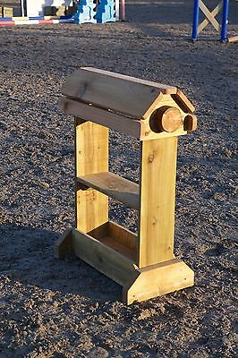 Single Wooden Saddle Stand