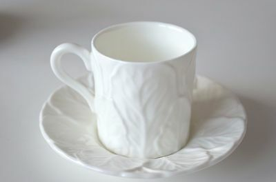Coalport Countryware white collection small coffee cup and saucer