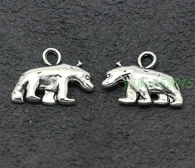 Tibetan Silver find Charm lovely fashion Cattle pendant 8-100pcs 16x21mm 2.6g