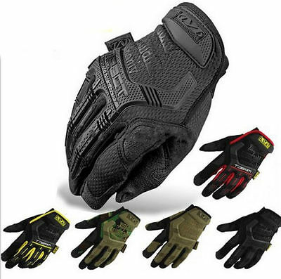 Mechanix Wear M-pact Military Tactical Army Gloves Full Finger S,M,L,XL