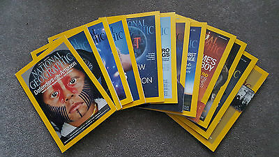 National Geographic Magazines 2014 Full Year x12 copies
