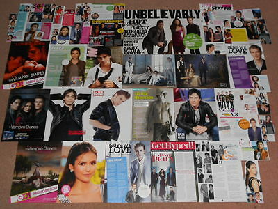 60- THE VAMPIRE DIARIES Magazine Clippings