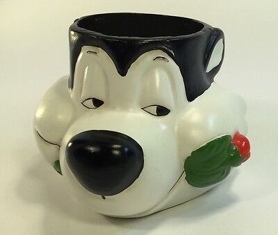 Vntg RARE 1994 Warner Bros. Store ~ PEPE Le PEW Candle Holder ~ Near MT to MINT