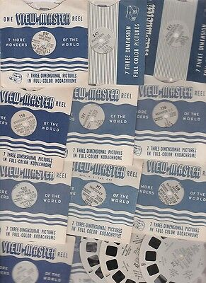13 Viewmaster Reels of Canada and the US