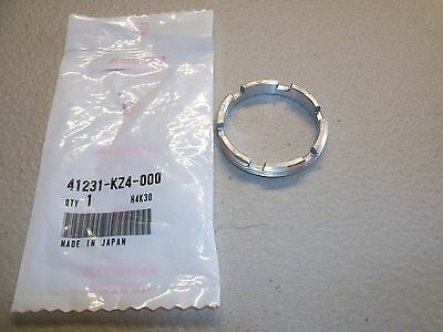 New OEM Honda CR125 CR250 CR500 Rear Wheel Bearing Retainer NUT *see fitment**