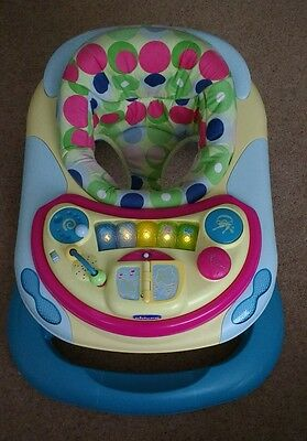 Chicco Baby Walker Padded seat with Activity desk