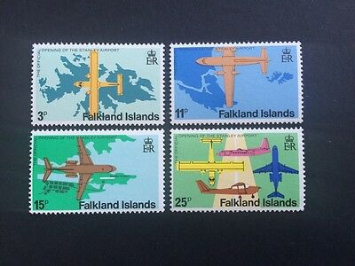ASstamps Falkland Islands 1979 Opening Of Stanley Airport set SC#287-290 MNH