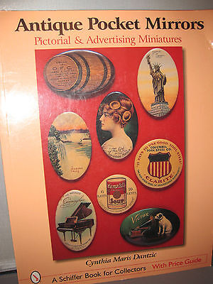 Antique Pocket Mirrors by Cynthia Maris Dantzic; Schiffer Book for Collectors