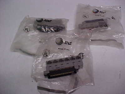 At&t 25 Pair (Male) 258A Adapter Rj45X 25 Pair Telephone Connector (3) Nos