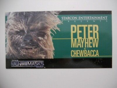 Star Wars Starcon Chewbacca card ( only issued in Canada) 1998
