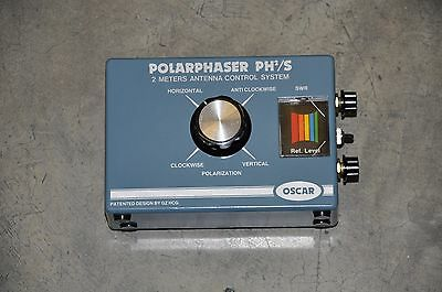 OSCAR PH2/S POLARPHASER FOR 2 x 2 METER ANTENNAS-  360 Degree's of Phase ShiFT