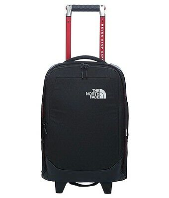 The North Face Overhead Cabin Small Black Wheeled Bag New Fall 2016 Model