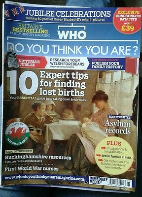 Who do you think you are magazine Issue 61