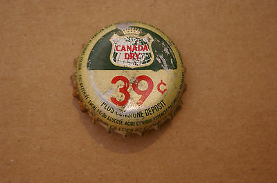Soft drink bottle cap Canada Dry