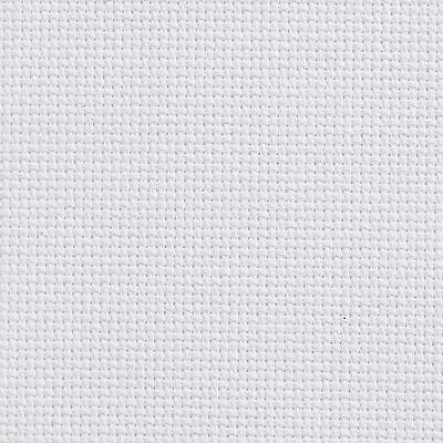 AIDA 14 COUNT WHITE CROSS STITCH FABRIC MATERIAL 100% COTTON Cheap listing