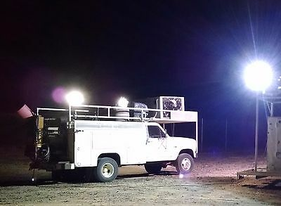 4WD Truck with 75 KW generator