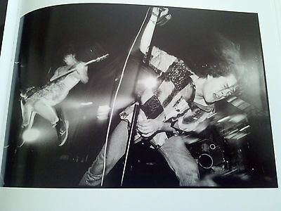 Neds Atomic Dustbin Live 1991 20x14cm Page from Book to Frame