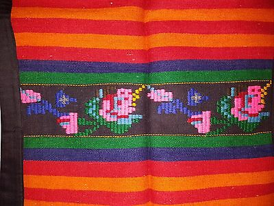 Woven and Embroidered Bulgarian Folk Costume Apron #2