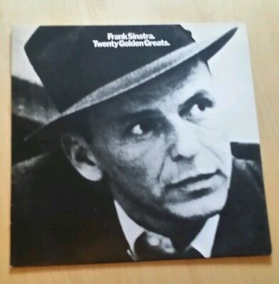 Frank Sinatra Twenty Golden Greats Vinyl Lp Album