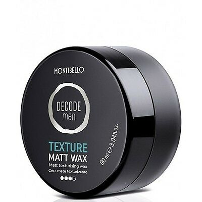 Montibello Decode Men Texture Matt Wax 90 Ml.