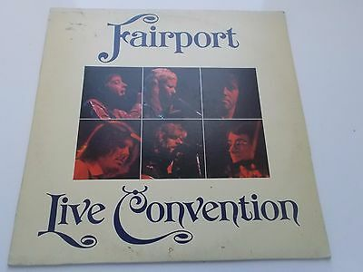 "1974 ""Fairport Convention Live"" UK Island (A1/B2) LP"