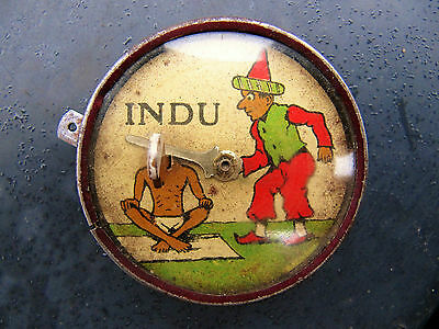 Fine Antique Very Rare 1930's INDU Tin Plate Toy by Lehmann