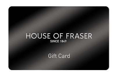 House of Fraser Gift Card Worth £42