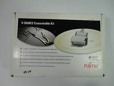 Fujitsu Fi-5530C2 Scanner Consumable Kit CON-3334-004A Pick Roller Pad Assembly