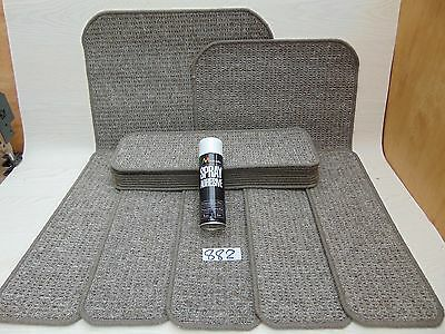 Stair pads 60 cm Wide 14 off and 2 Big Mats with a FREE can of SPRAY GLUE(882-4)