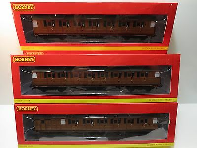 HORNBY,BR.EX LNER TEAK,CORRIDOR COACHES,4 CONCESSIONS,NEW,Choose, BUFFET,SLEEPER