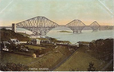 Forth Bridge From Above Railway Line, SOUTH QUEENSFERRY, West Lothian