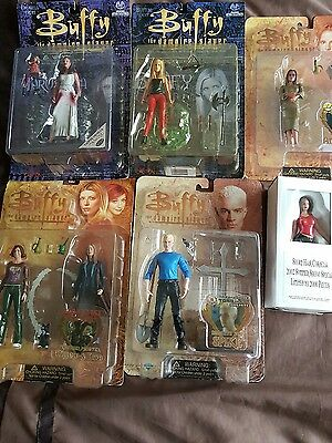 Buffy the vampire slayer figure collection of 6