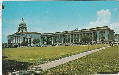 City Hall & Supreme Court From The Pedang, SINGAPORE, Postally Used