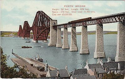 Forth Bridge & Ferry Landing, SOUTH QUEENSFERRY, West Lothian