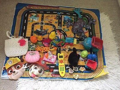 large toy bundle unisex preschool cars ducks baby soft toys mat paw patrol