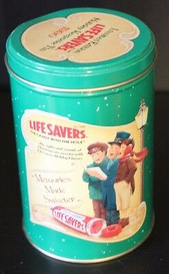 Vintage Lifesavers Candy Collectible Limited Edition 1990 Holiday Keepsake Tin