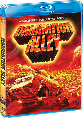 Damnation Alley (Blu-ray Disc, 2011) George Peppard CULT Shout factory